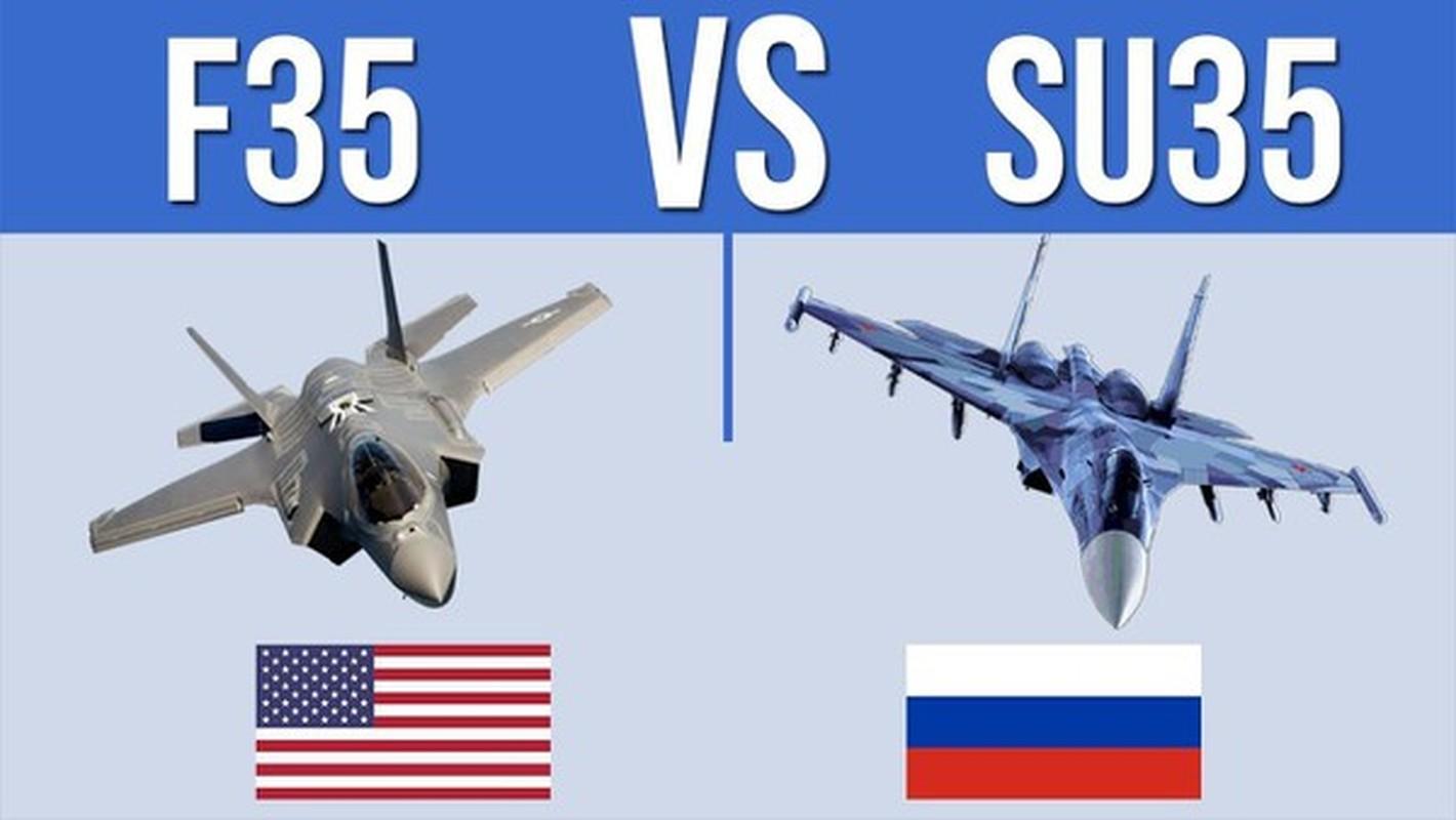 """Dat len ban can"" chien dau co F-35 My va Su-35 Nga-Hinh-14"