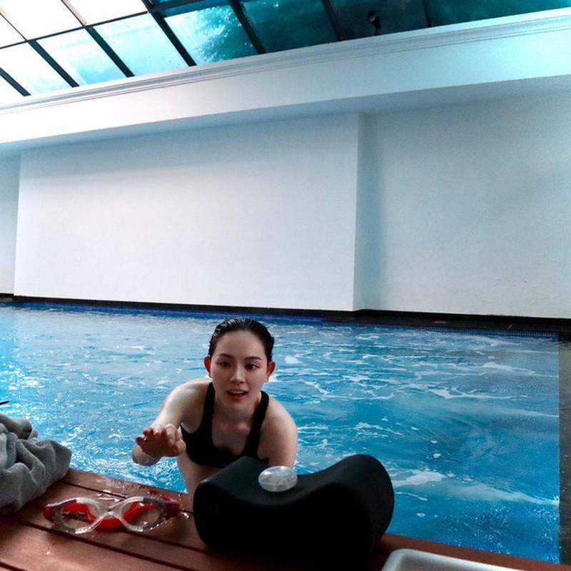 Hiem khi dien bikini, chi dau tuong lai Tien Nguyen lo body cuc xin-Hinh-3
