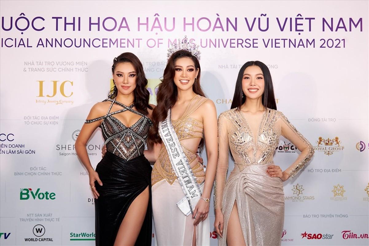 Thi Hoa Hau Hoan Vu Viet Nam, hot girl chuyen gioi gay sot