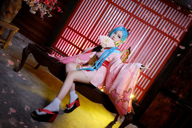 Nu Coser Viet hoa than Squid Game, lo mat that gay sot-Hinh-11