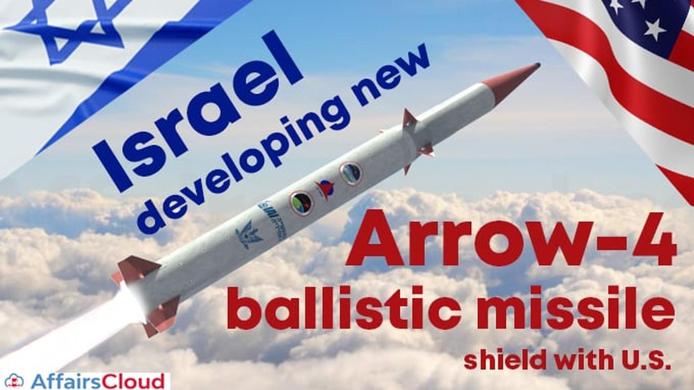 Ten lua Arrow-4 cua Israel co ban ha duoc ten lua sieu thanh?