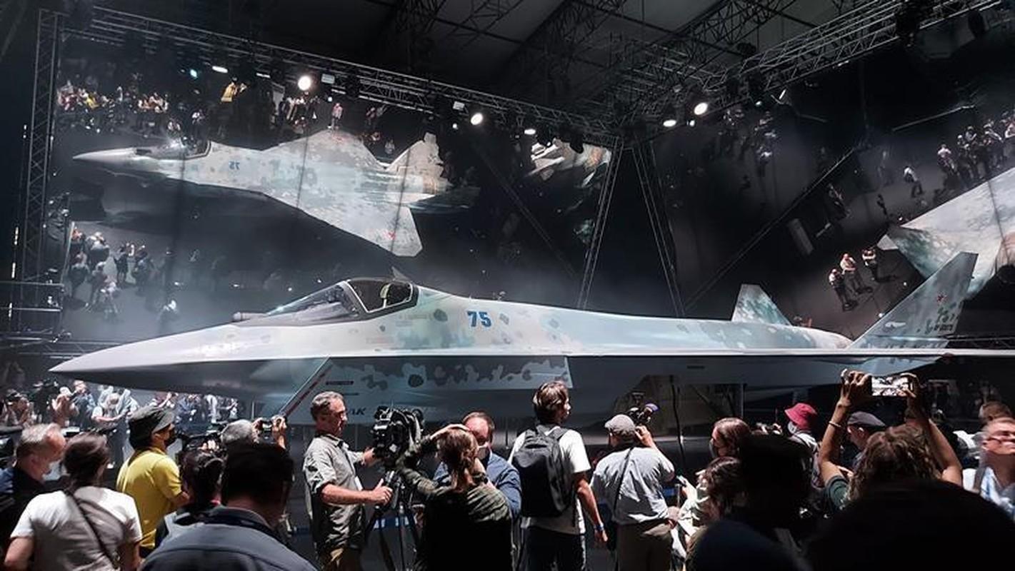 Tiem kich Su-75 lieu co dam vao vet xe do cua T-14 Armata?-Hinh-4