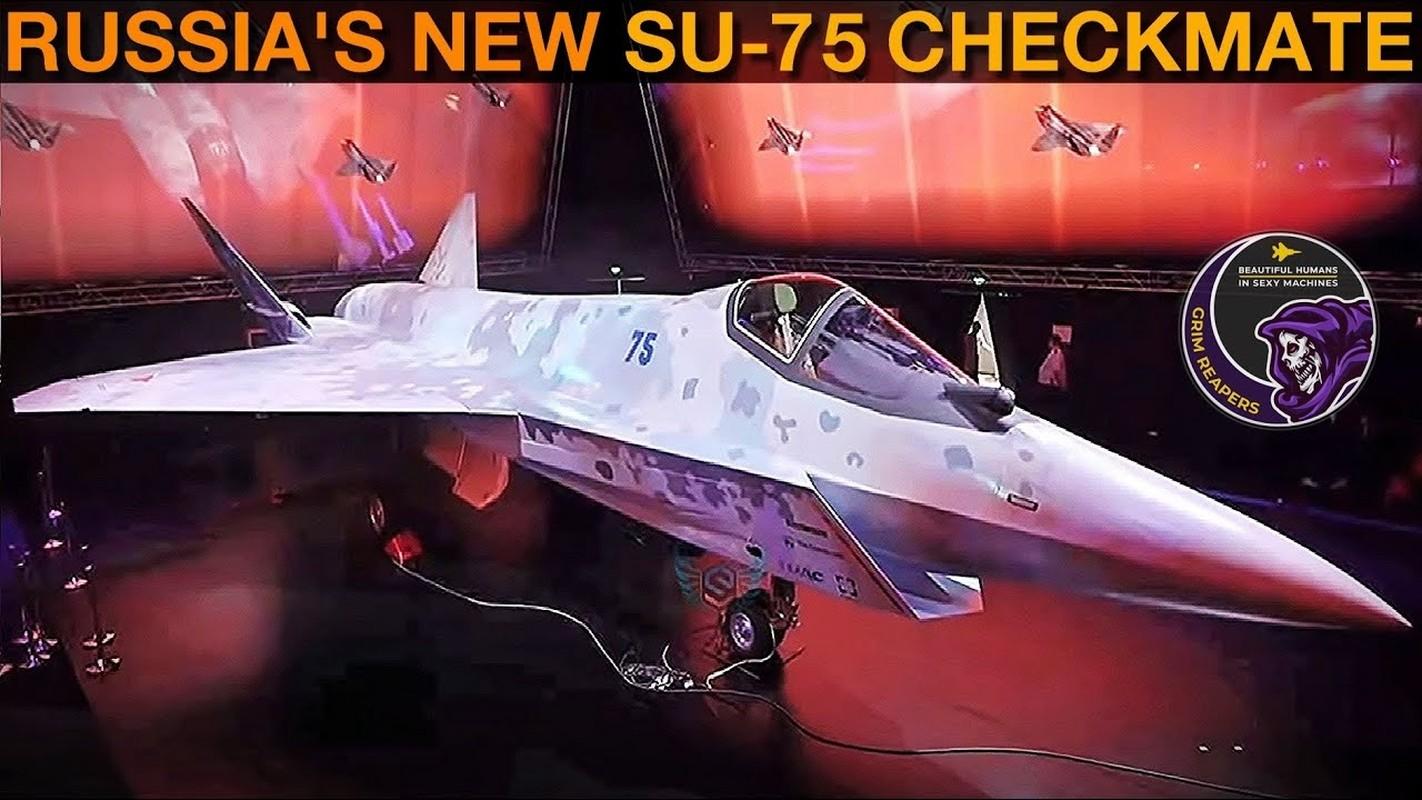 Tiem kich Su-75 lieu co dam vao vet xe do cua T-14 Armata?-Hinh-5