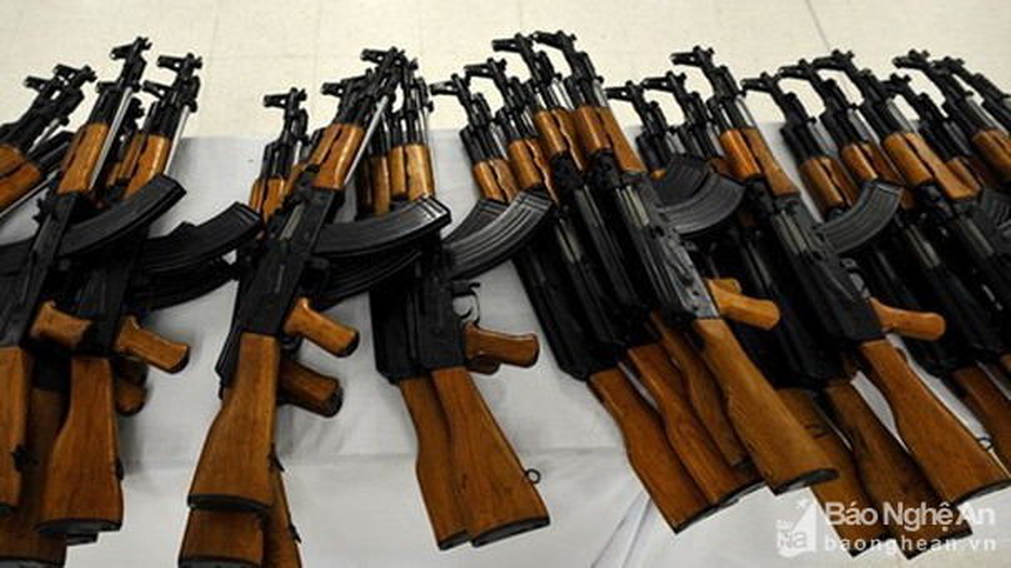 5 quoc gia san xuat sung truong tan cong AK-47 te nhat