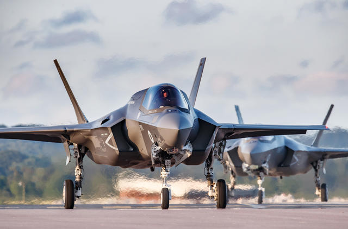 F-35 tien sat bien gioi Nga, san sang dung do S-400-Hinh-2