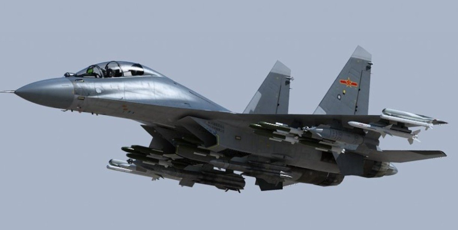 May bay tac chien dien tu J-16D Trung Quoc co de doa duoc My?-Hinh-5