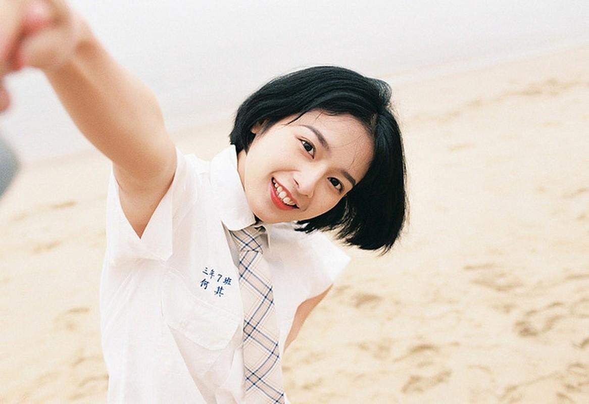 Cat phang mai toc thuot tha, hot girl xinh noi bat voi dau ngan-Hinh-10