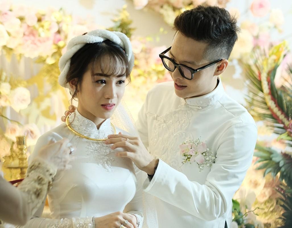 Sau 1 thang ket hon, con gai Minh Nhua khoe bung bau nhung nhan sac hu hon-Hinh-8