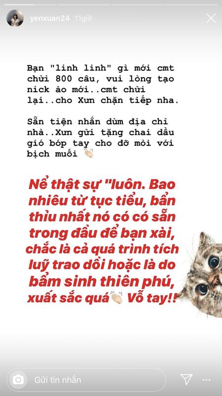 """Ban gai Dang Van Lam """"xu long"""", gay gat dan mat antifan-Hinh-3"""