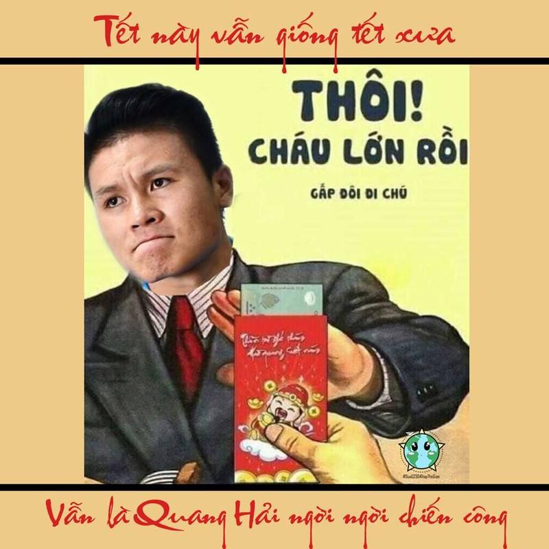 Vua ve, dan cau thu U23 Viet Nam da ru nhau di...ban dao Tet cuc hai