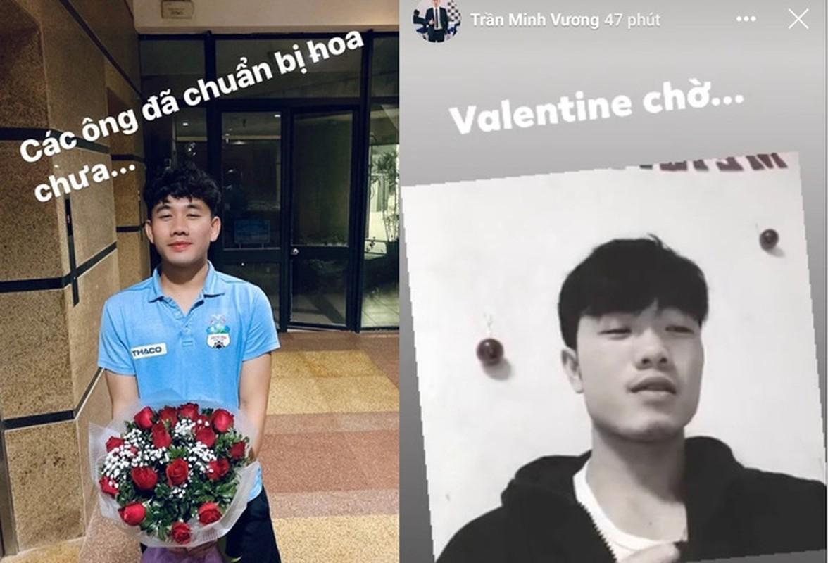 Dan cau thu ngot ngao to chuc valentine, nhin Quang Hai thay