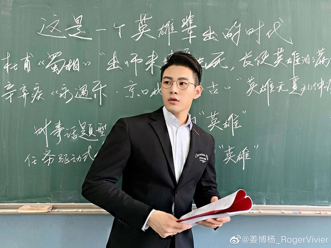 Thay giao dep trai nhu nam than, dung chuan Duong Lam Hang trong tieu thuyet-Hinh-4