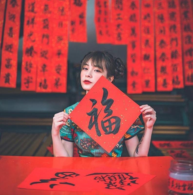 Hot girl Dai Loan xinh dep hon nguoi, nhin vao mat moi thay bat ngo-Hinh-3