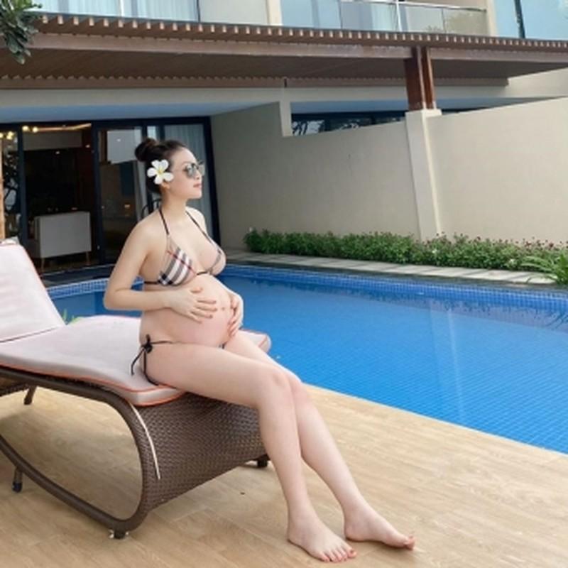 Khoe bung bau vuot mat, dan hot girl Viet van khoe nhan sac cuc dinh-Hinh-8