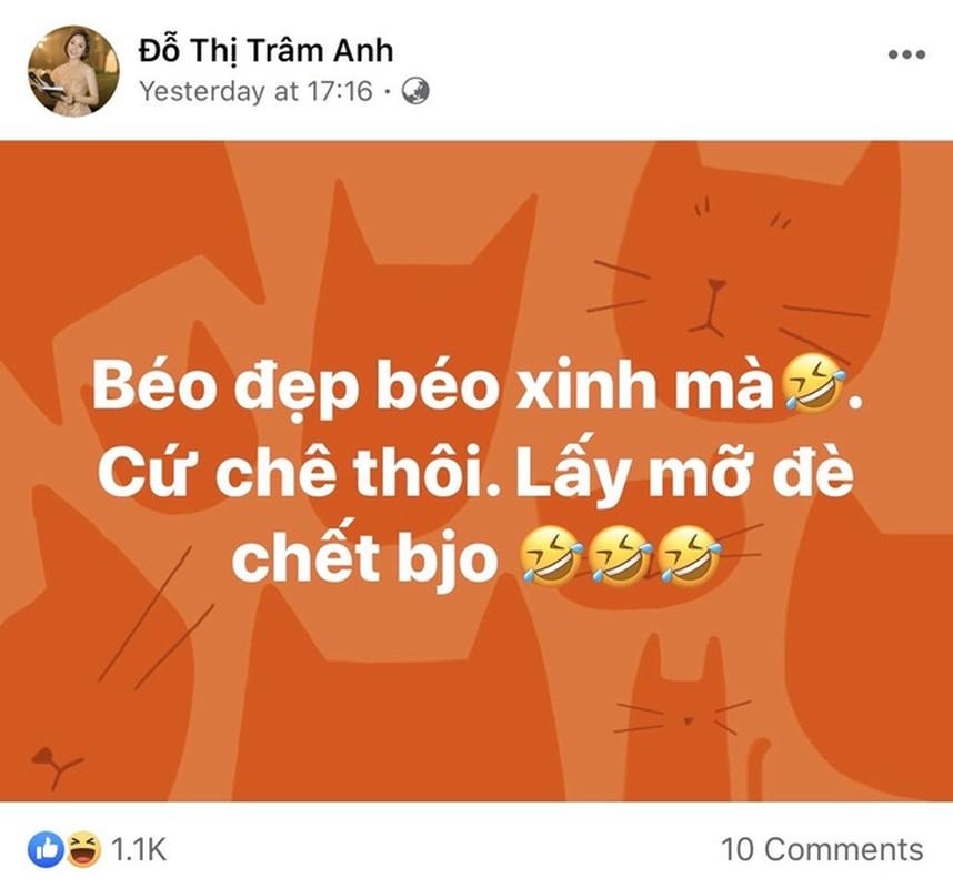 Hot girl Tram Anh dap tra gat khi vong 2 banh mi bi dem ra binh pham-Hinh-2