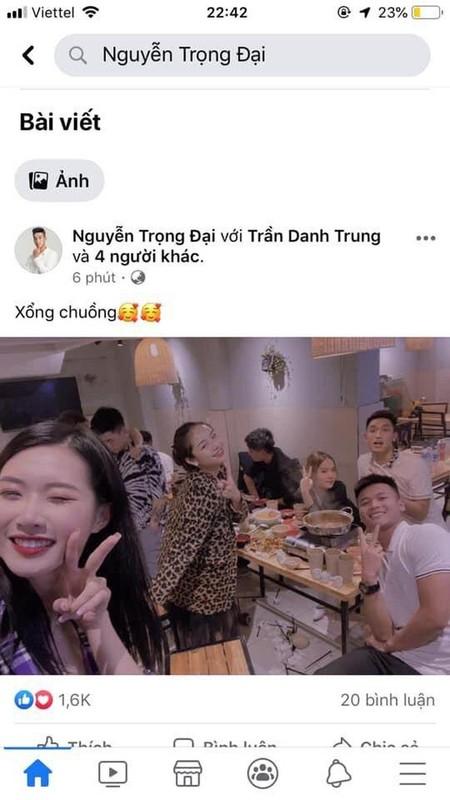 """Sau rum beng voi Quang Hai, """"co chu tiem nail"""" bi nghi hen ho Trong Dai?"""
