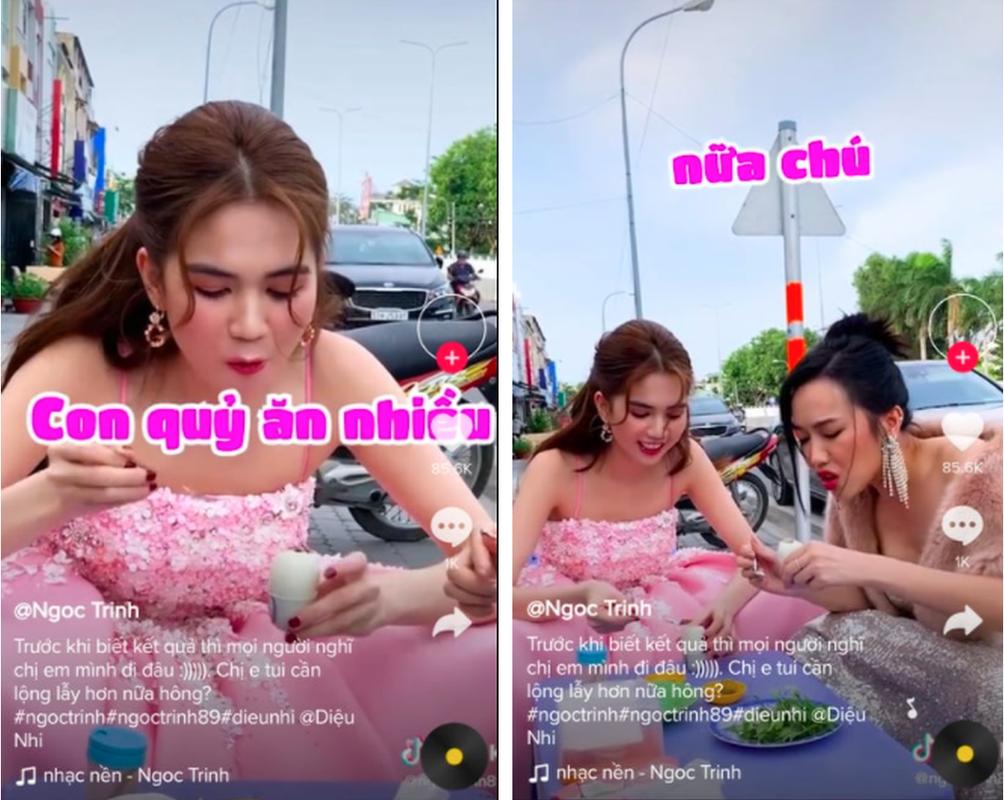 Nhin Ngoc Trinh va Dieu Nhi len do di an, dan tinh cuoi sac sua-Hinh-9