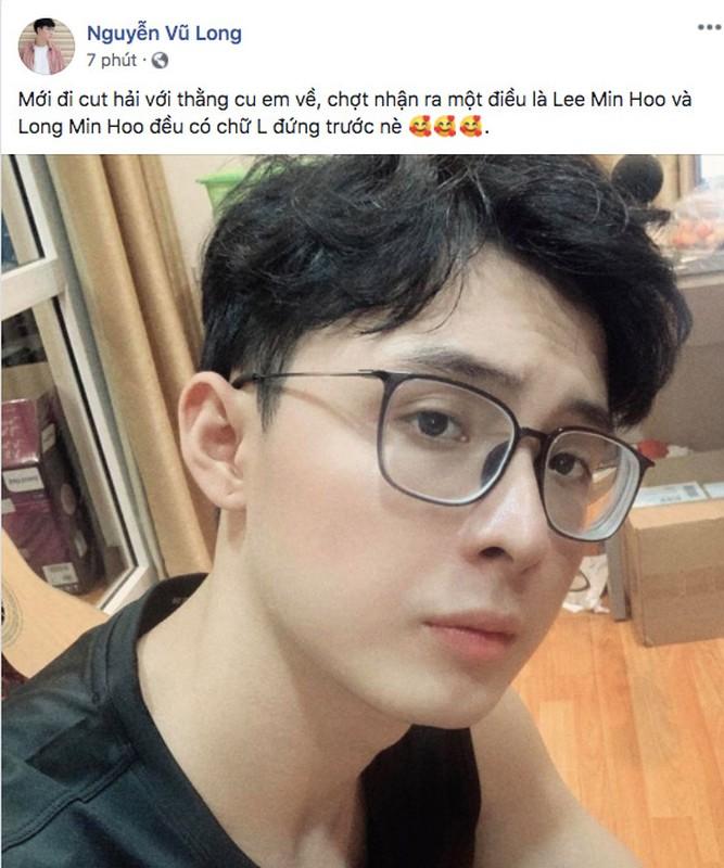Khoe toc moi, streamer NoWay khien fan tuong nham Lee Min Ho-Hinh-2