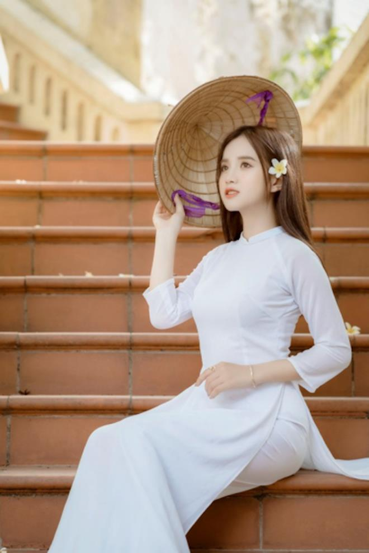 Nu sinh Dai hoc Ha Noi khoe ve dep trong veo cung nu cuoi toa nang-Hinh-4