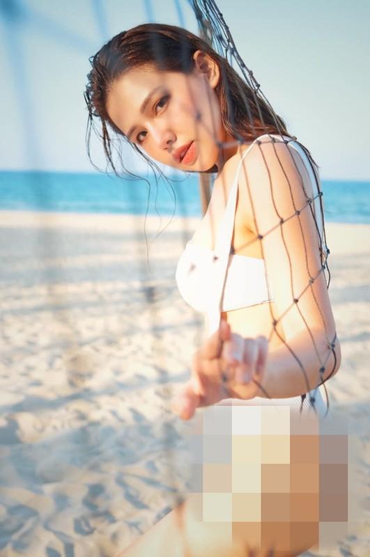 Khoe anh di bien, hot girl Phanh Lee khien dan tinh phai xuyt xoa-Hinh-5