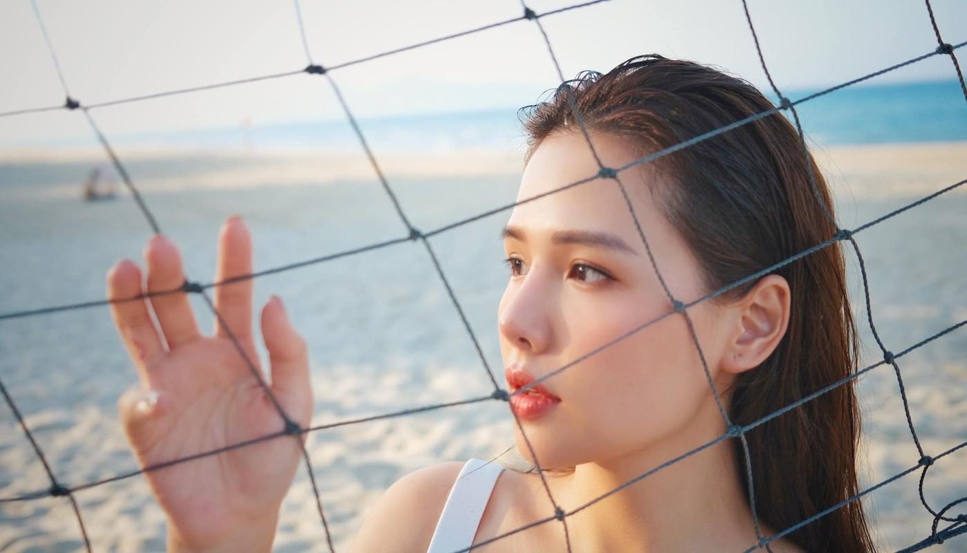 Khoe anh di bien, hot girl Phanh Lee khien dan tinh phai xuyt xoa-Hinh-6