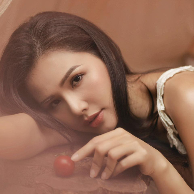 Khoe anh di bien, hot girl Phanh Lee khien dan tinh phai xuyt xoa-Hinh-8