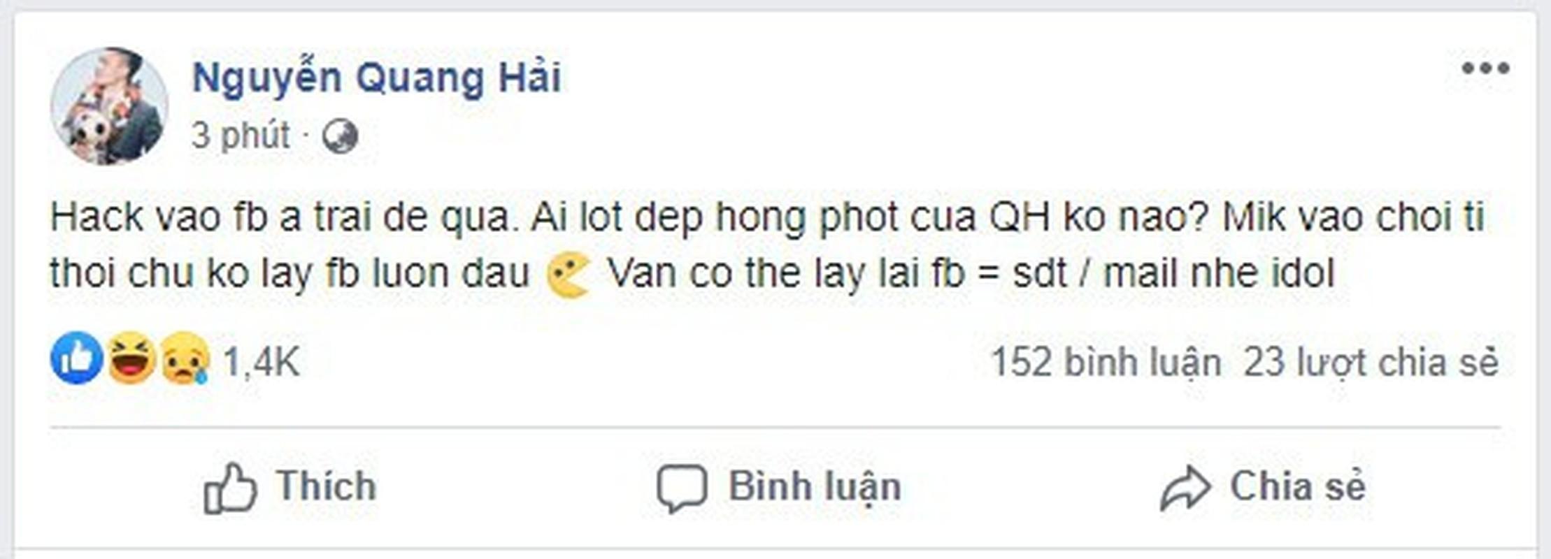 Quang Hai lo tin nhan nhay cam, ban gai co dong thai bat ngo