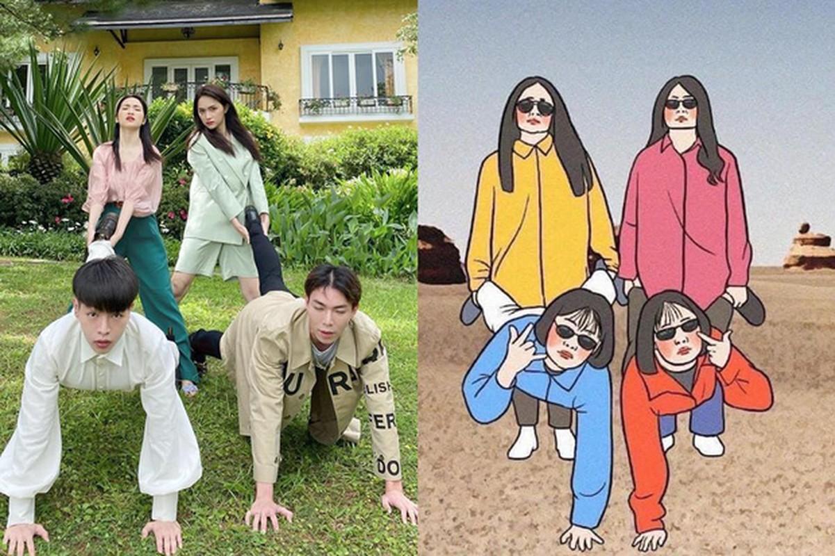 "Chup hinh bat trend cuc kho do, ""gia dinh hoa dam but"" gay sot-Hinh-5"