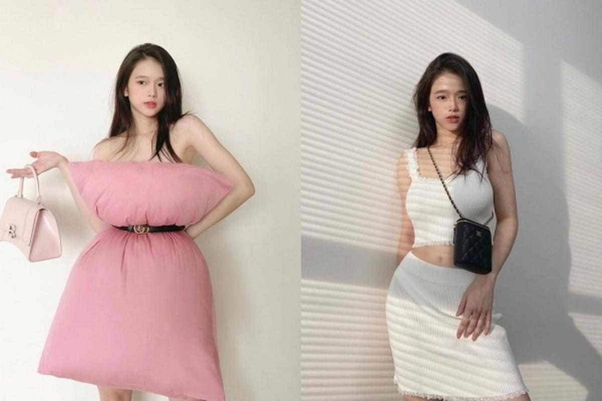 Mac ao tam goi cam, hot girl Linh Ka duoc fan khen nuc no-Hinh-5
