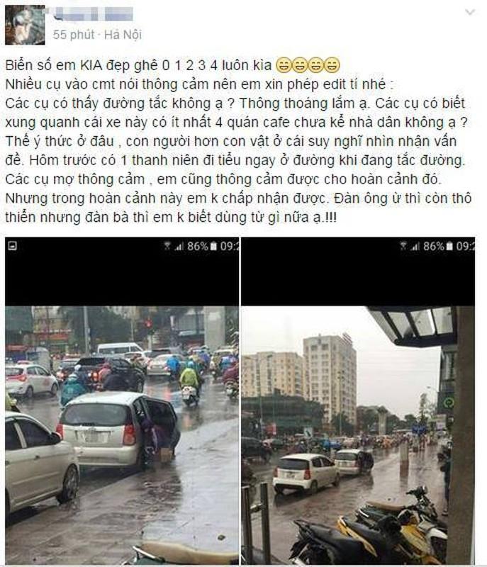 Thoi xau tai xe Viet: Bien duong di thanh nha ve sinh cong cong-Hinh-8
