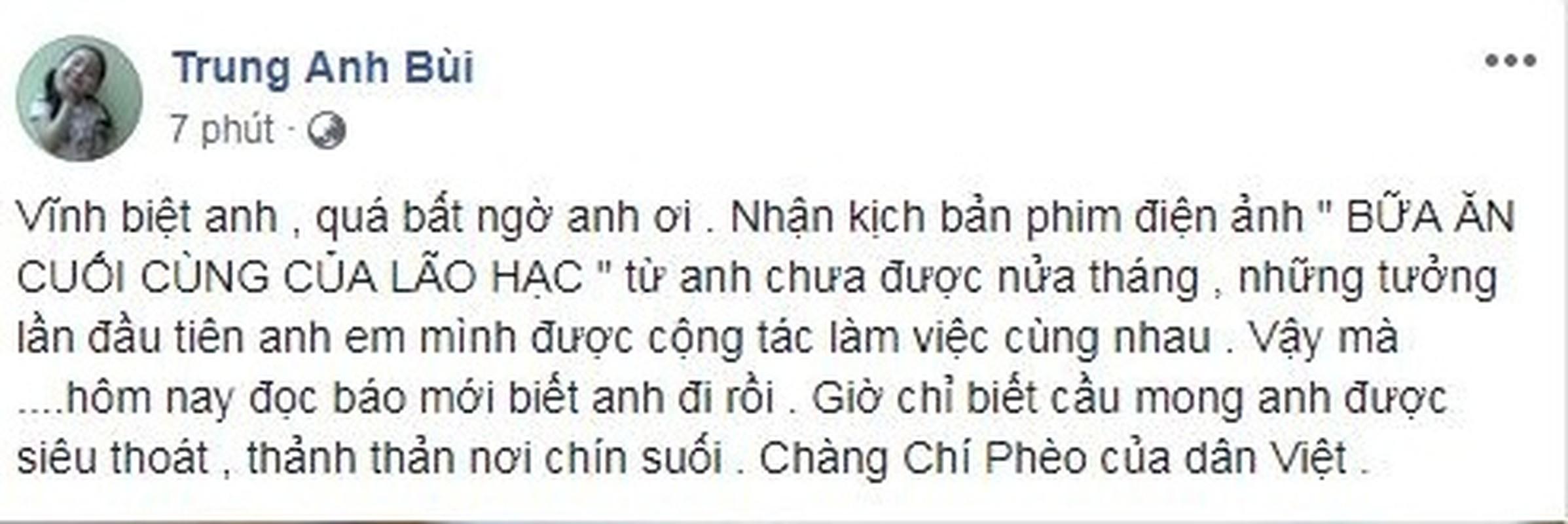 Sao Viet bang hoang tiec thuong NSUT Bui Cuong qua doi-Hinh-3