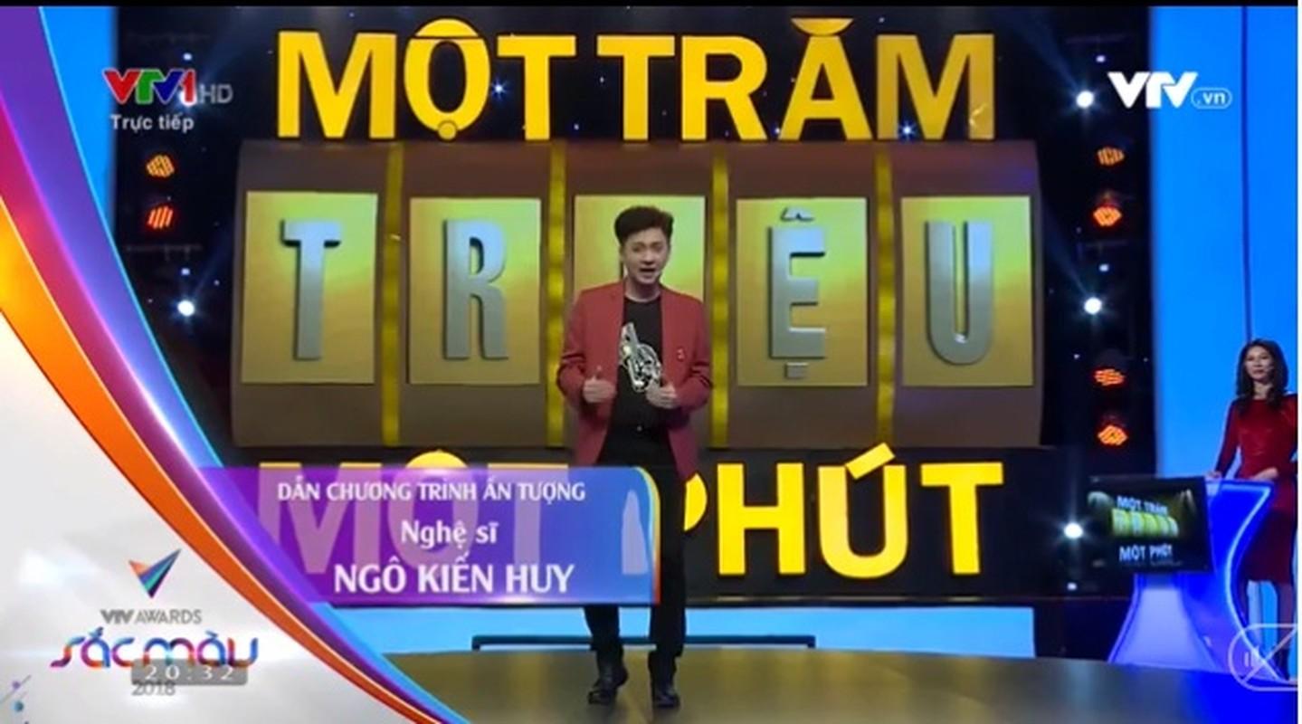 Ngo Kien Huy lam MC duyen the nao ma doat giai VTV Awards?