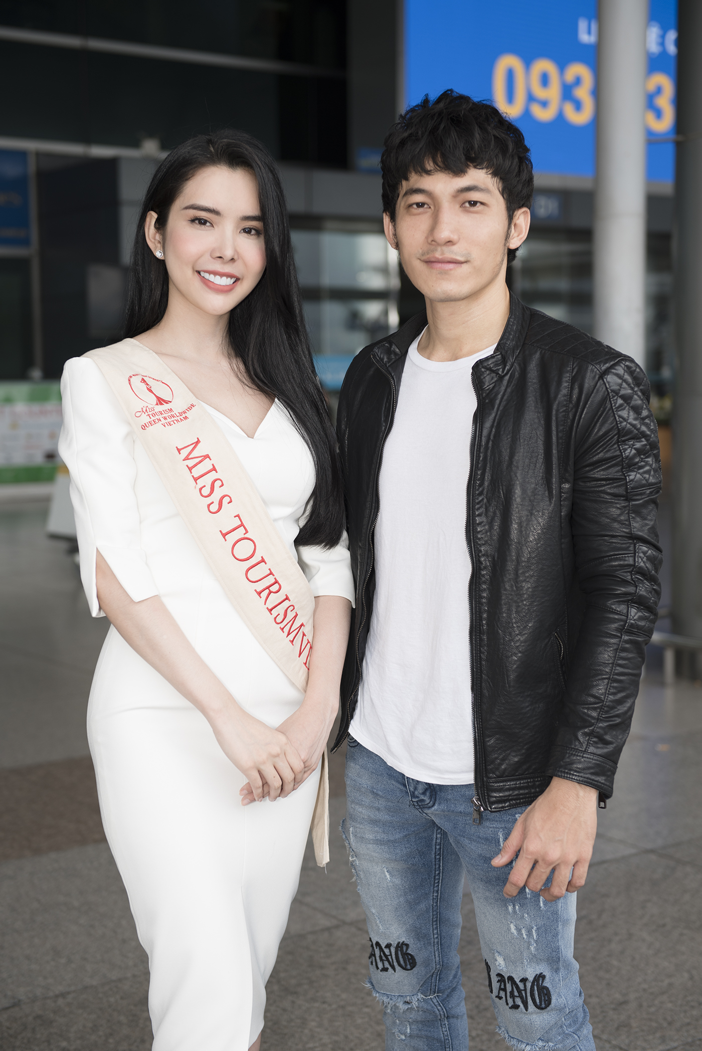 Lien Binh Phat tien Huynh Vy di thi Miss Tourism Queen Worldwide-Hinh-7