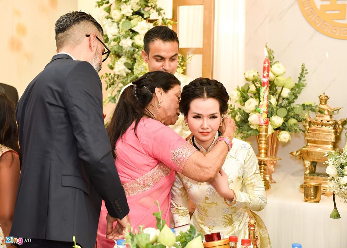 Cuoi chong doanh nhan An Do, Vo Ha Tram sung suong thot len dieu nay-Hinh-5