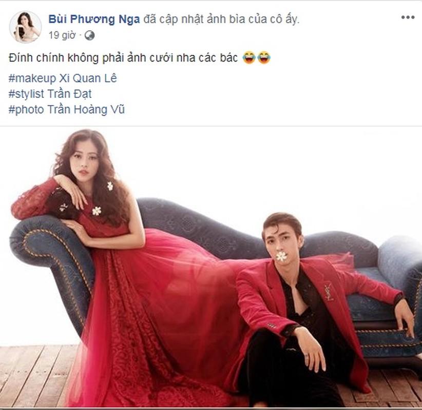 A hau Phuong Nga tiet lo bat ngo ve buc anh dam cuoi voi Binh An