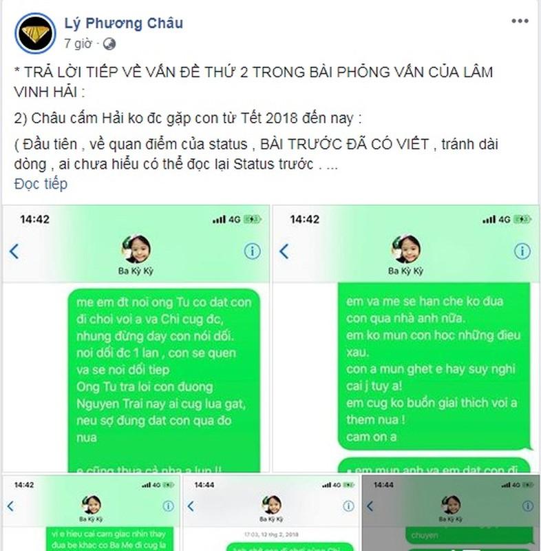 Vo cu Lam Vinh Hai to chong ky keo tien tro cap, Linh Chi phan ung-Hinh-3