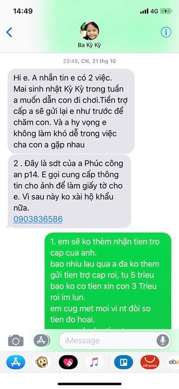 Vo cu Lam Vinh Hai to chong ky keo tien tro cap, Linh Chi phan ung-Hinh-6