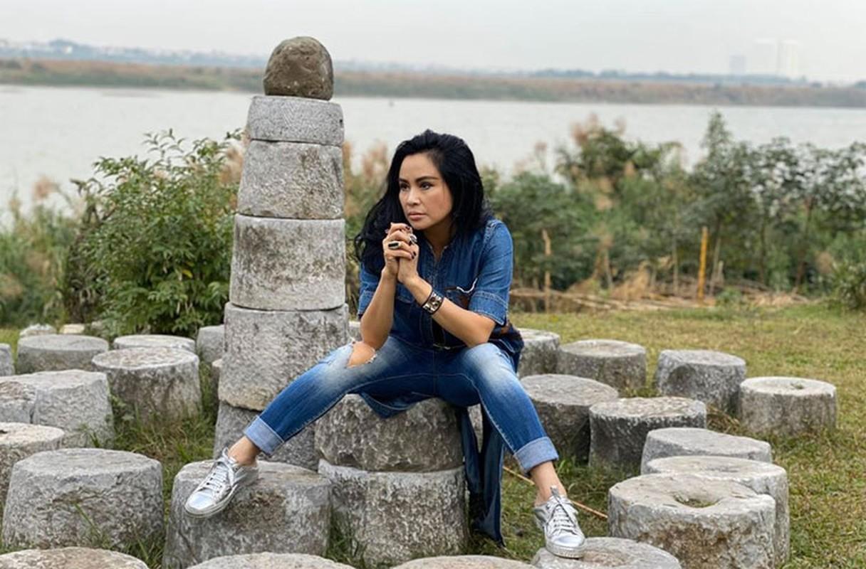 Thanh Lam xinh dep, an vui ben con va tinh tre o tuoi 51-Hinh-11