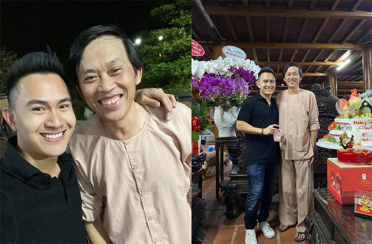 Con trai Hoai Linh dep trai nhu soai ca, tai hoa khong kem bo