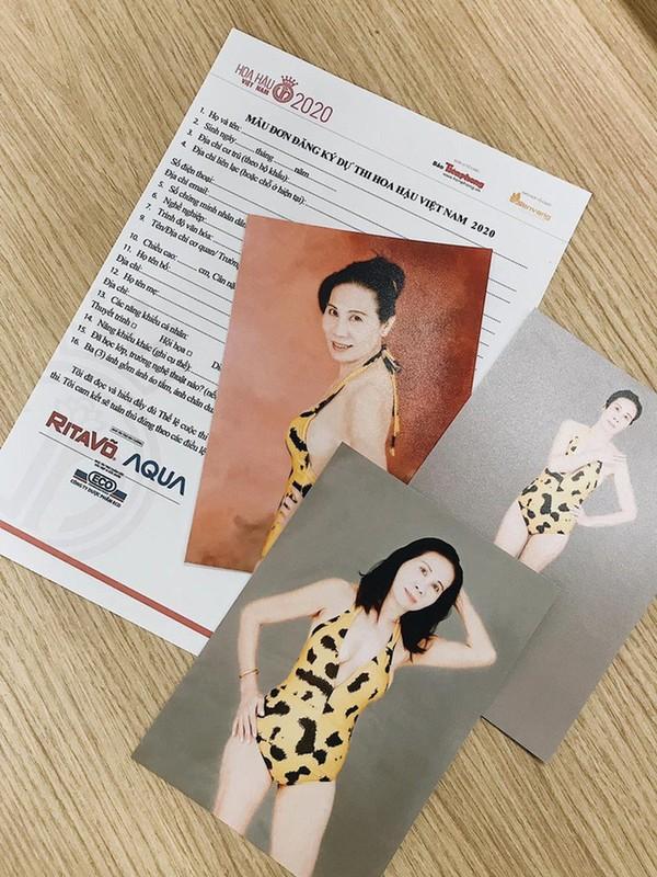 Ngo ngang voi thi sinh U60 dang ky thi Hoa hau Viet Nam 2020