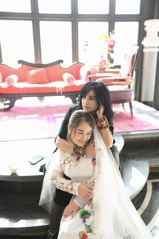 Con gai Thanh Lam hanh phuc trong hau truong chup anh cuoi-Hinh-12