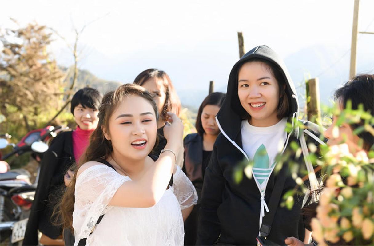 Con gai Thanh Lam hanh phuc trong hau truong chup anh cuoi-Hinh-8