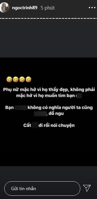 Nhung hanh xu, phat ngon gay bao du luan cua Ngoc Trinh-Hinh-9