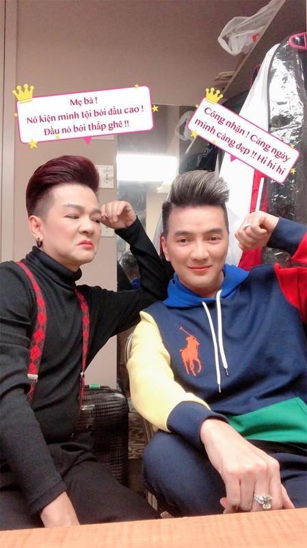 Chet cuoi nhung man troll nhau cua Dam Vinh Hung - Vu Ha-Hinh-11
