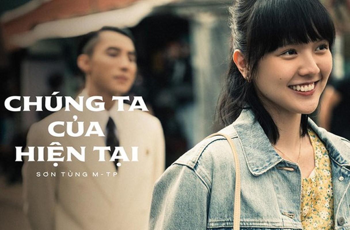 Anh ngot ngao cua Hai Tu – Son Tung M-TP khi dong chung MV