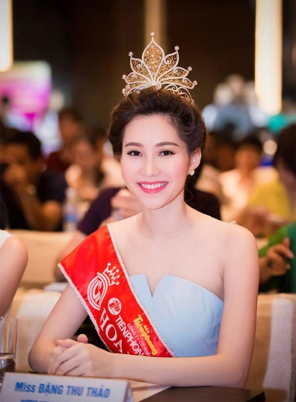 Da hai con, Hoa hau Dang Thu Thao van xinh het phan thien ha!