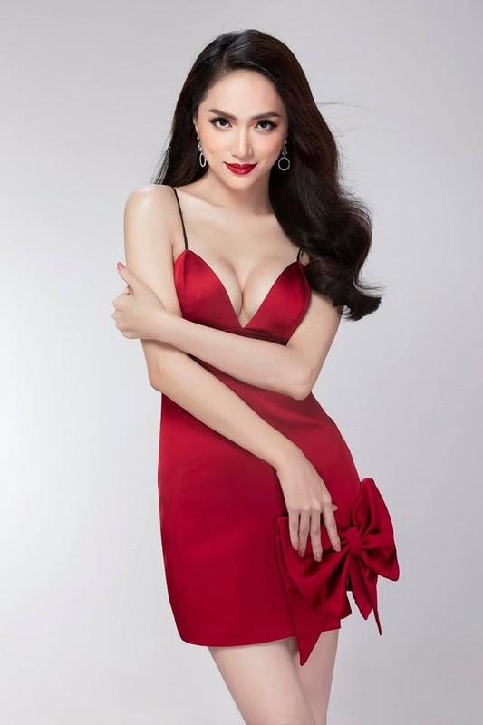 Hoa hau Huong Giang khoe dang nuot voi vay bo goi cam-Hinh-11
