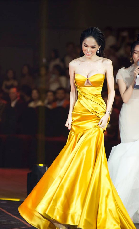 Hoa hau Huong Giang khoe dang nuot voi vay bo goi cam-Hinh-12