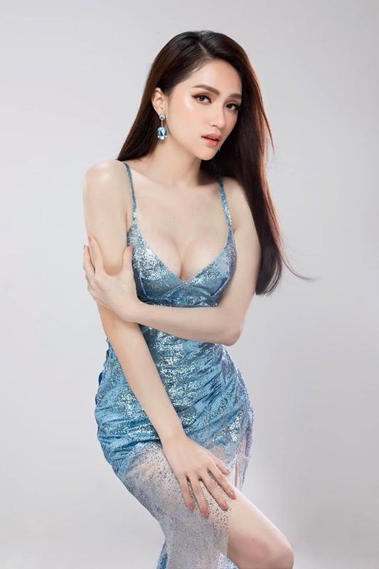 Hoa hau Huong Giang khoe dang nuot voi vay bo goi cam-Hinh-2