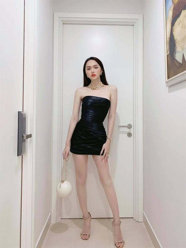 Hoa hau Huong Giang khoe dang nuot voi vay bo goi cam-Hinh-6
